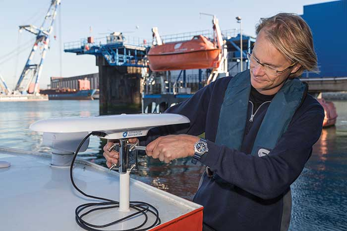 Nortek选择即插即用型GNSS/GPS COMPASS作为调查套件