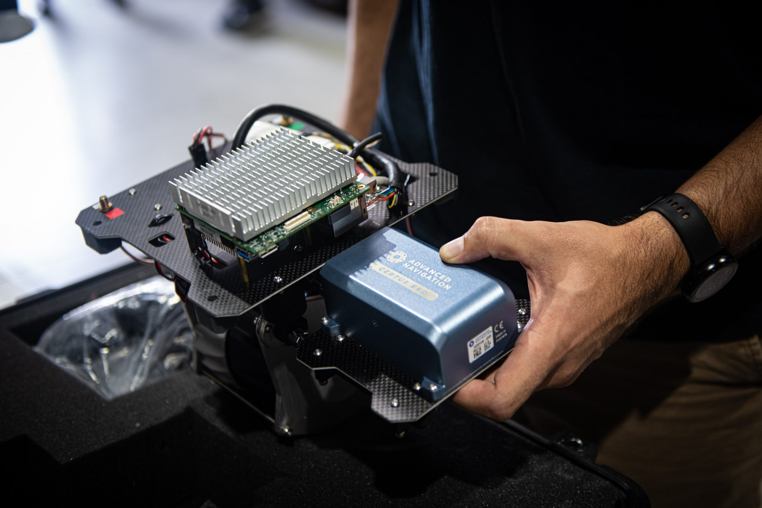 案例研究:CERTUS EVO帮助NEXTCORE的无人机LIDAR飞到新的高度